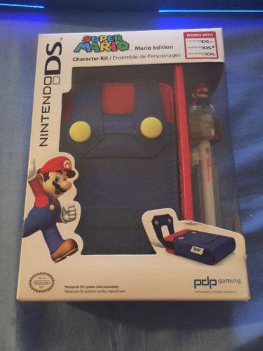 Super Mario Bros Case Cover Nintendo 3DS Super Mario Kawaii JAPAN Free Shipping
