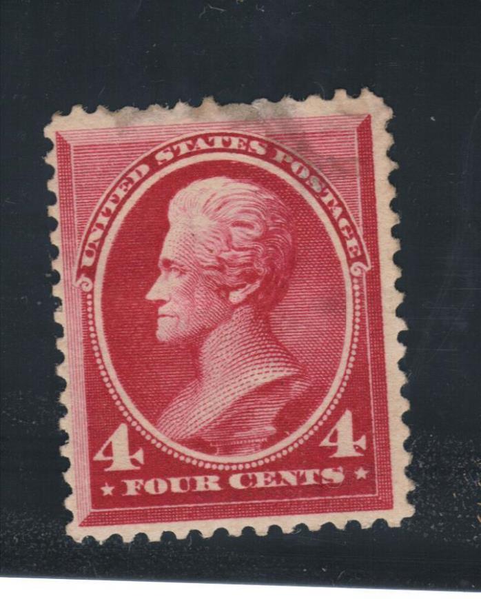 U.S. stamp,  Scott # 215, Unused