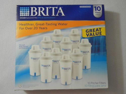 Brita Pitcher Replacement Filter - Fits all Brita Pitchers and Dispensers  U7505