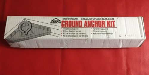 OpenBox Arrow Shed AK600 Earth Anchor Kit