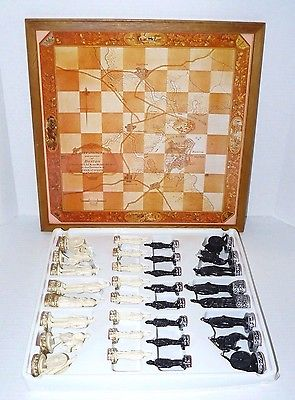 New Revolutionary War Chess Game Set