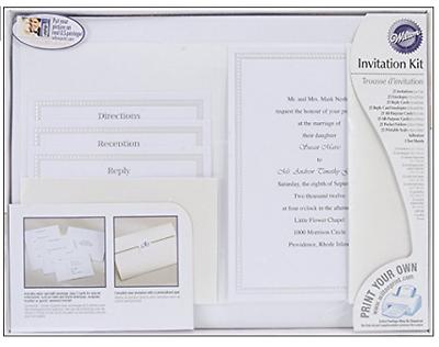 Wilton Pocket Invitation Kit String of Pearl