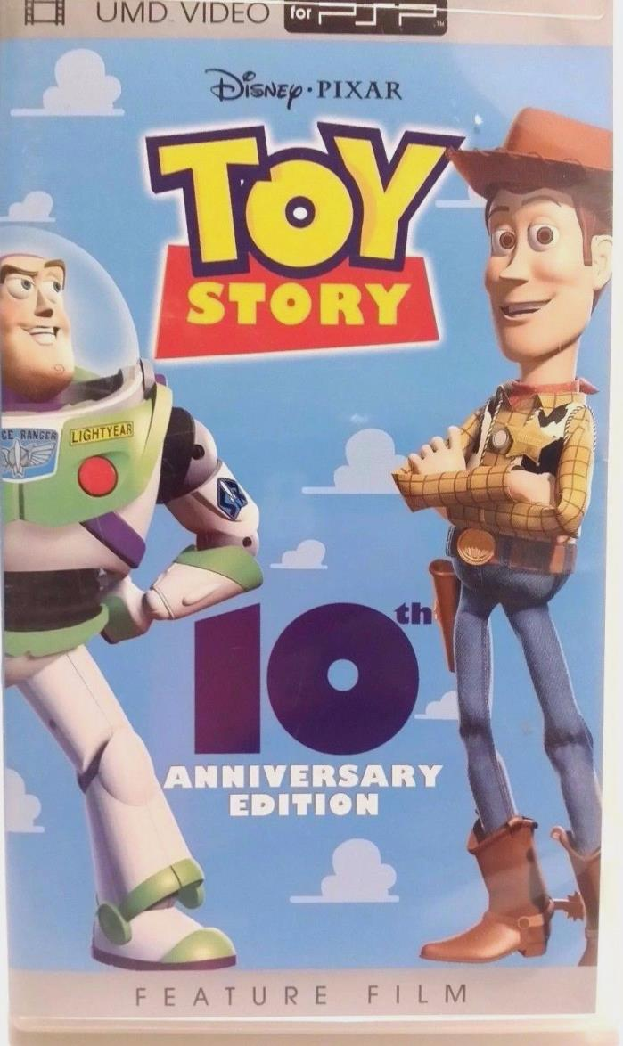 SONY PSP UMD MOVIE TOY STORY 10th Anniversary Edition ORIGINAL CASE COVER ART