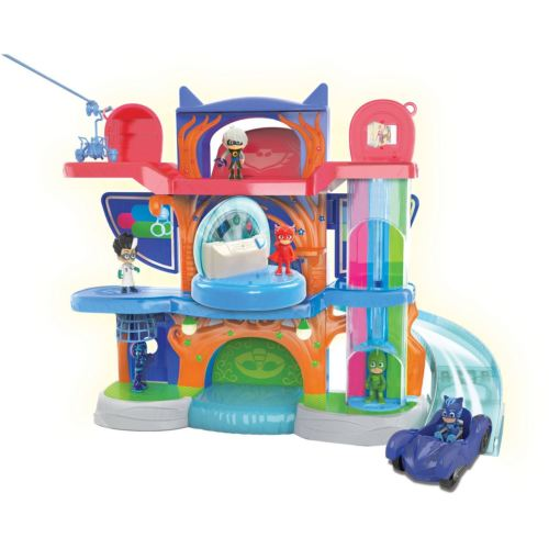 Toy Figure PJ Masks Headquarter Play Set Car Disney Junior Super Hero