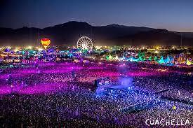 Coachella Music Festival Tickets 04/21/17 SHUTTLE PASS