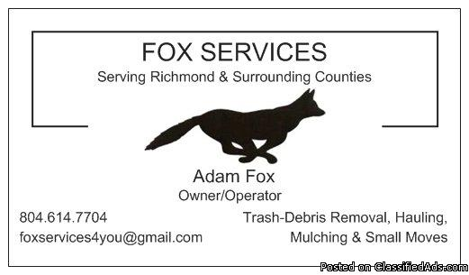Yard Cleanup, Mulching, Trash-Debris Removal & More