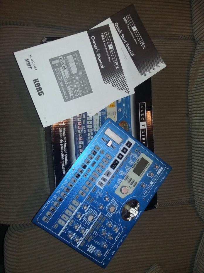 Korg ElecTribe MX EMX-1 Music Production Station w/ box, & manuals