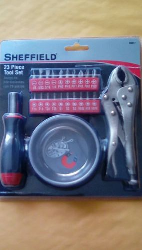 Sheffield Tools Tool Set, 23-Piece 60017
