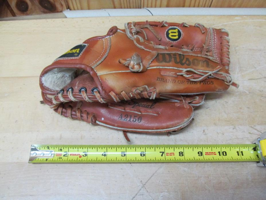 Vintage Baseball Glove Roger Clemens Wilson A2150 RH Thrower
