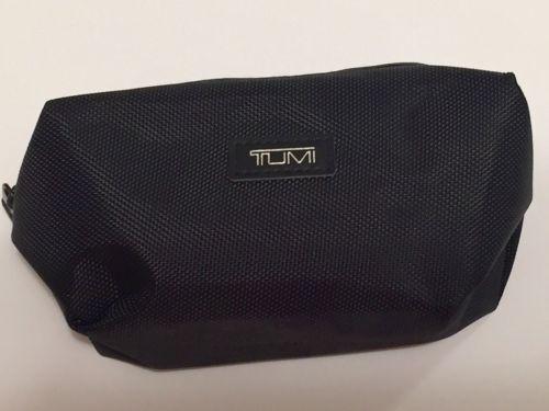 TUMI for Delta Black Nylon Toiletry Pouch