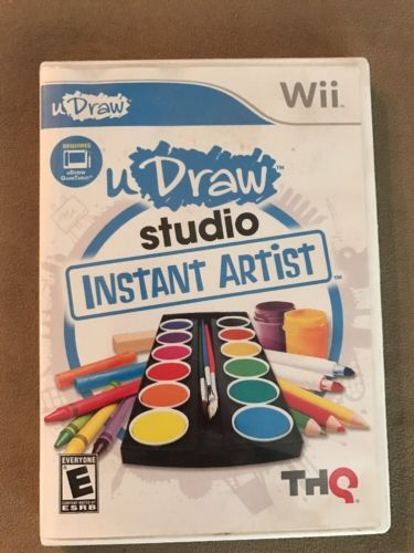 Wii Game: U Draw Studio Instant Artist