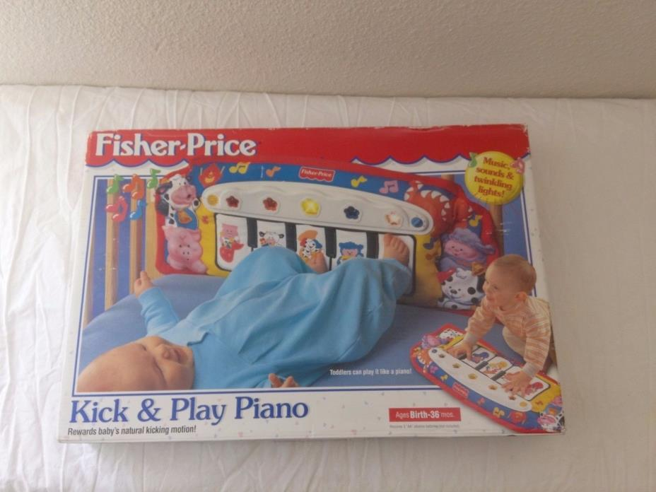 1998 Fisher-Price Kick and Play Piano Gym Grow w Your Baby  FREE SHIPPING NEW