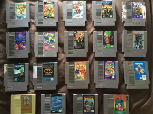 Lot Of Original NES Nintendo Games