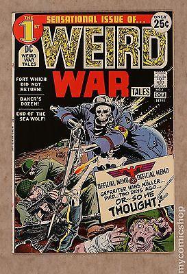 Weird War Tales (1971 DC) #1 FN+ 6.5