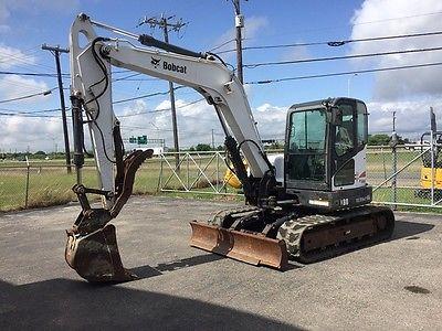 2011 Bobcat E80 Hydraulic Excavators