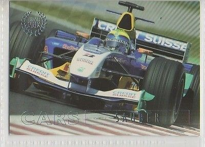 #49 Sauber - Grand Prix Collector Card