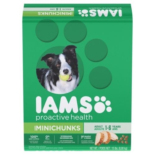 Iams Minichunks 15 Lb Bag