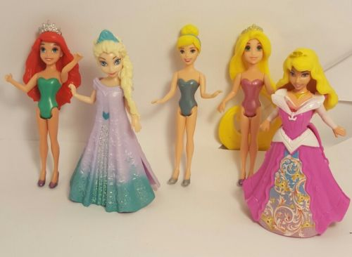Disney Princess Lot Aerial Elsa Cinderella Rapenzel Sleeping Beauty 3