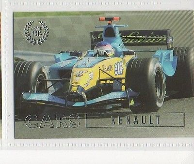 #48 Renault - Grand Prix Collector Card