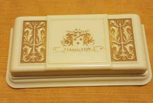 Vintage Bakelite Hamilton Watch Case