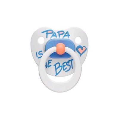 bibi swiss DENTAL SOOTHER papa is the best pacifier - 6-12 months