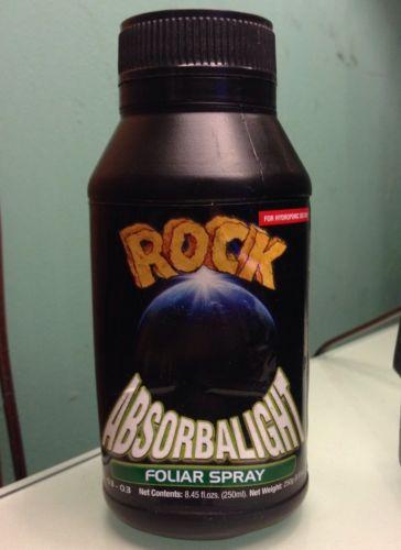 ROCK Absorbalight Foliar Spray growth enhancer 250ml bottle NEW Free Shipping
