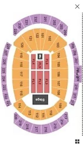 2 GARTH BROOKS FLOOR SEATS SOLD OUT KANSAS CITY 13th ROW!! MAY 7th, 7:30