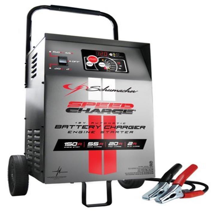 Automatic Wheeled Battery Charger  Engine Start 12V