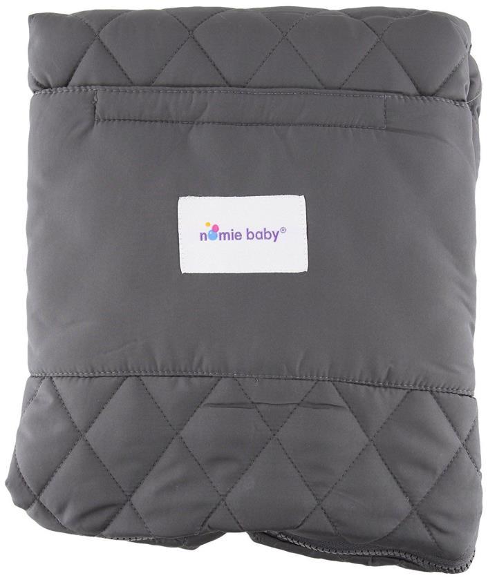 Nomie Baby Cozy Purple Stroller Blanket
