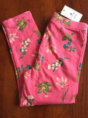 Toddler Girls Baby Gap Pink Floral Leggings Size  4T
