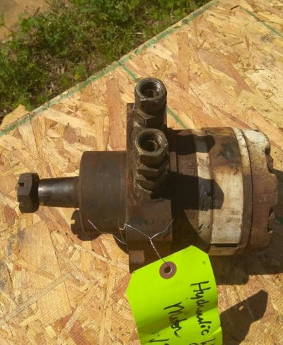 Small Hydraulic Motor - For Sale Classifieds