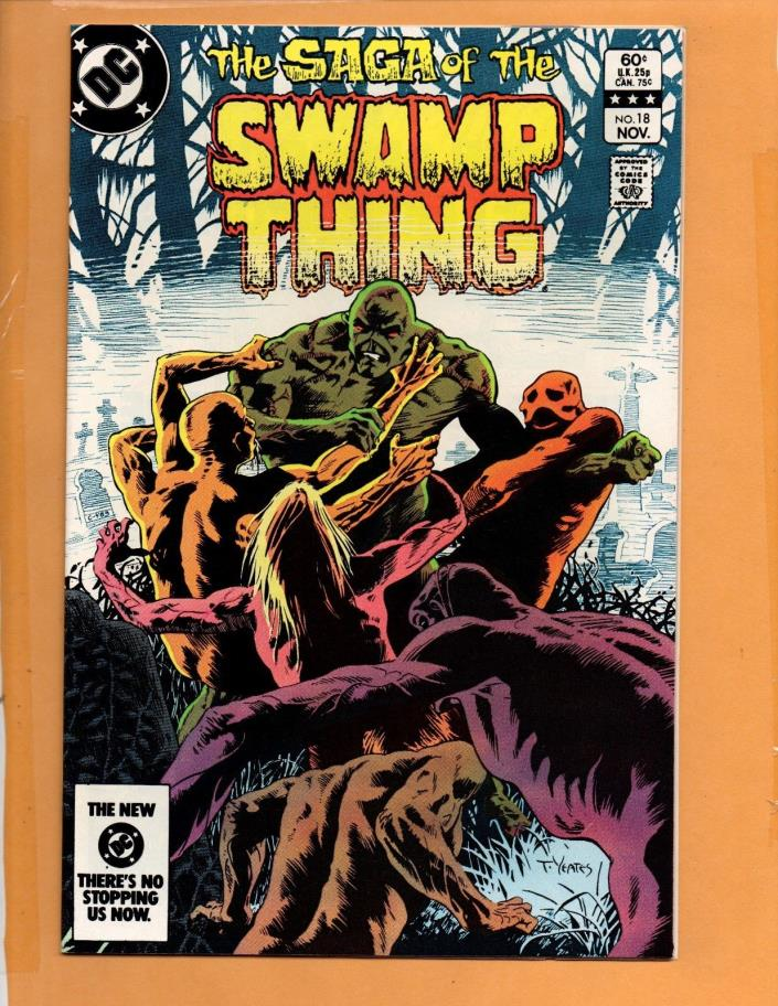 Saga Of The Swamp Thing #18 VF/NM