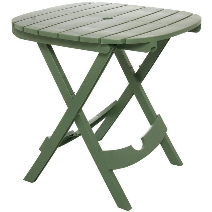 Folding Deck Garden Patio Cafe Bistro Table