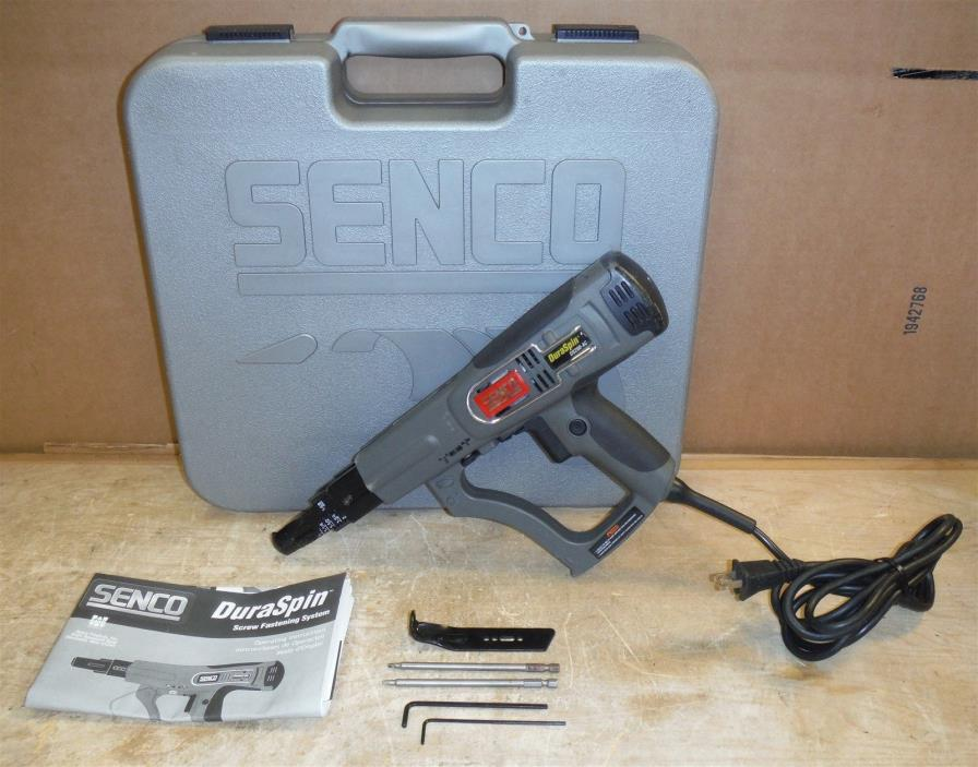 Senco DS200AC DuraSpin Collated Screwdriver in Case FREE SHIP 220