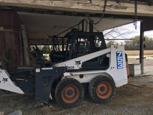 Bobcat 371 Skid Steer