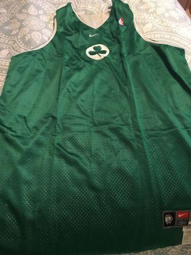 NWOT Boston Celtics ?? Nike  NBA Practice Reversible Jersey XL +4