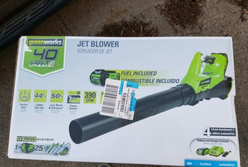 GreenWorks 40V Cordless 185MPH Blower New