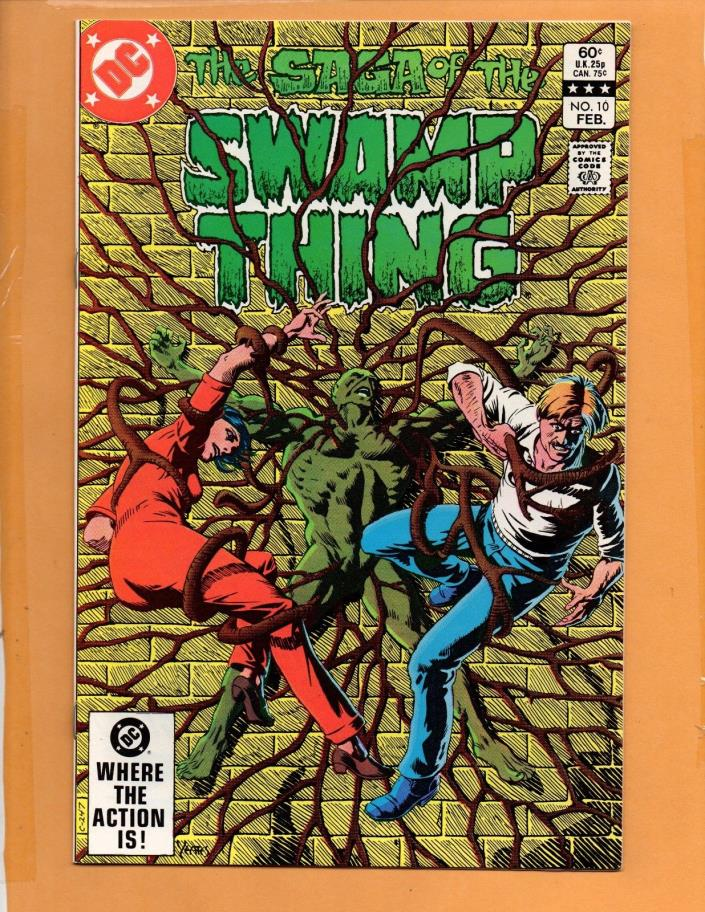 Saga Of The Swamp Thing #10 NM