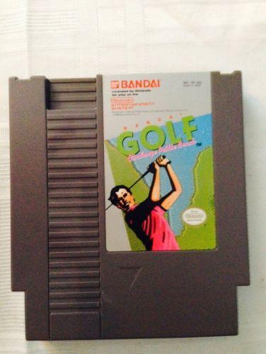 Nintendo NES Bandai Golf Challenge Pebble Beach