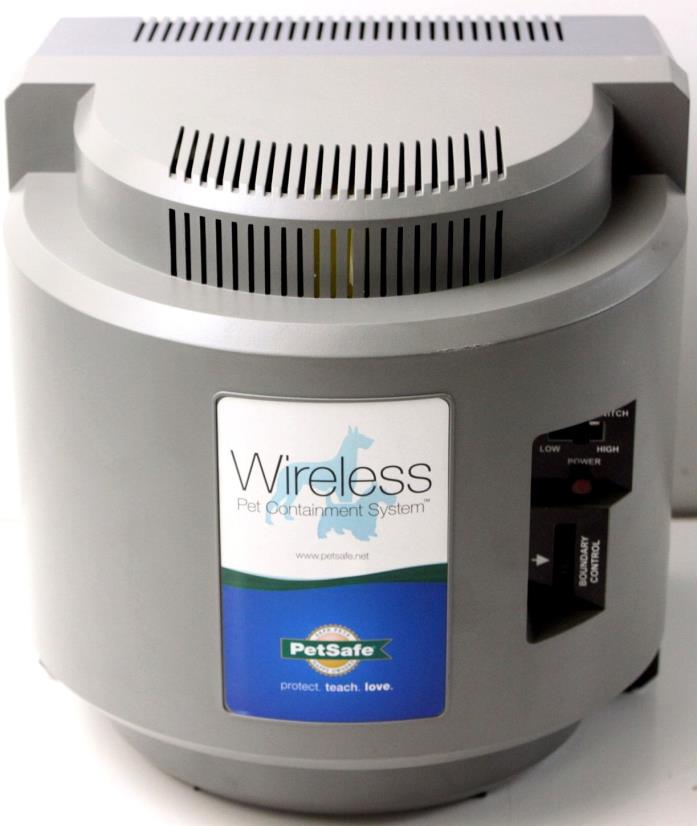PETSAFE IF-100 WIRELESS PET CONTAINMENT SYSTEM TRANSMITTER *UNIT ONLY* {597 W2}