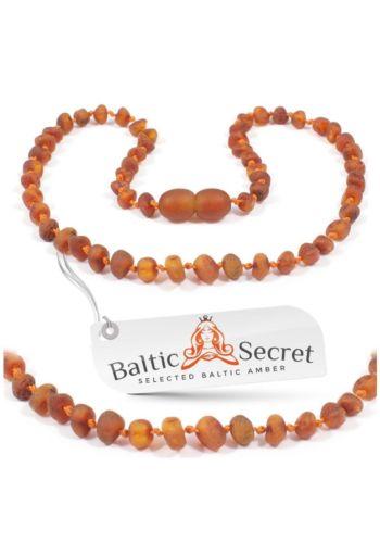 Baltic Secret Premium Amber Beards 12.4in Dark Cognac