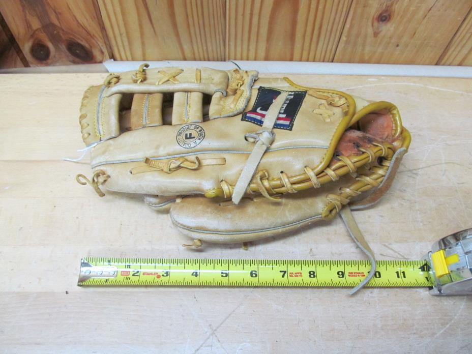 Vintage Baseball Glove Franklin Backhander – Left Handed Thrower 4082