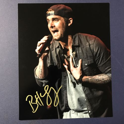 BRETT YOUNG SIGNED 8x10 PHOTO COUNTRY MUSIC STAR AUTOGRAPH HOT SLEEP WITHOUT YOU
