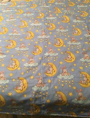 Reversible flannel baby blanket