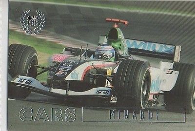 #46 Minardi - Grand Prix Collector Card