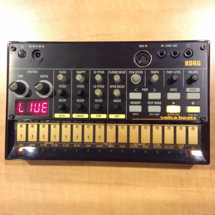 Korg Volca Beats Analog Rhythm Machine (Very Good Condition!)