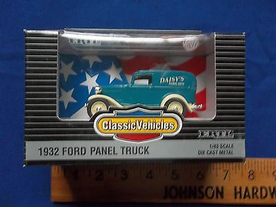 ERTL DIECAST 1932 FORD PANEL TRUCK DAISY'S FLORAL GIFTS 1:43 scale Classic Vehic