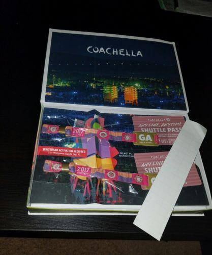 COACHELLA 2017 Weekend 2 21-23APR17 Shuttle Passes ONLY