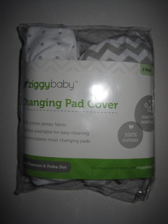 Ziggy Baby Jersey Cotton Crib / Changind Pad Fiitted Sheet  Multiple Variations