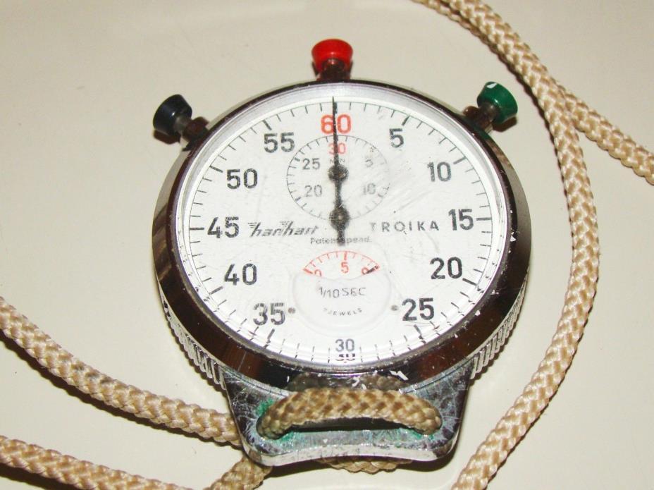 Vintage Hanhart Troika 1/10 Second Stopwatch
